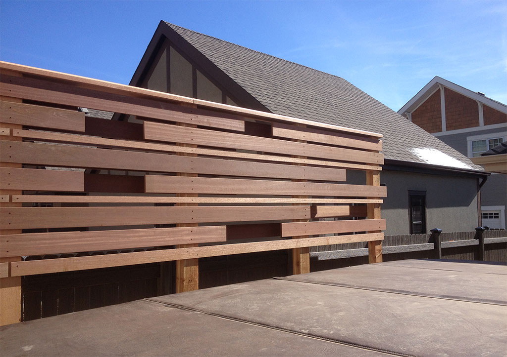 calgary landscaping privacy fence