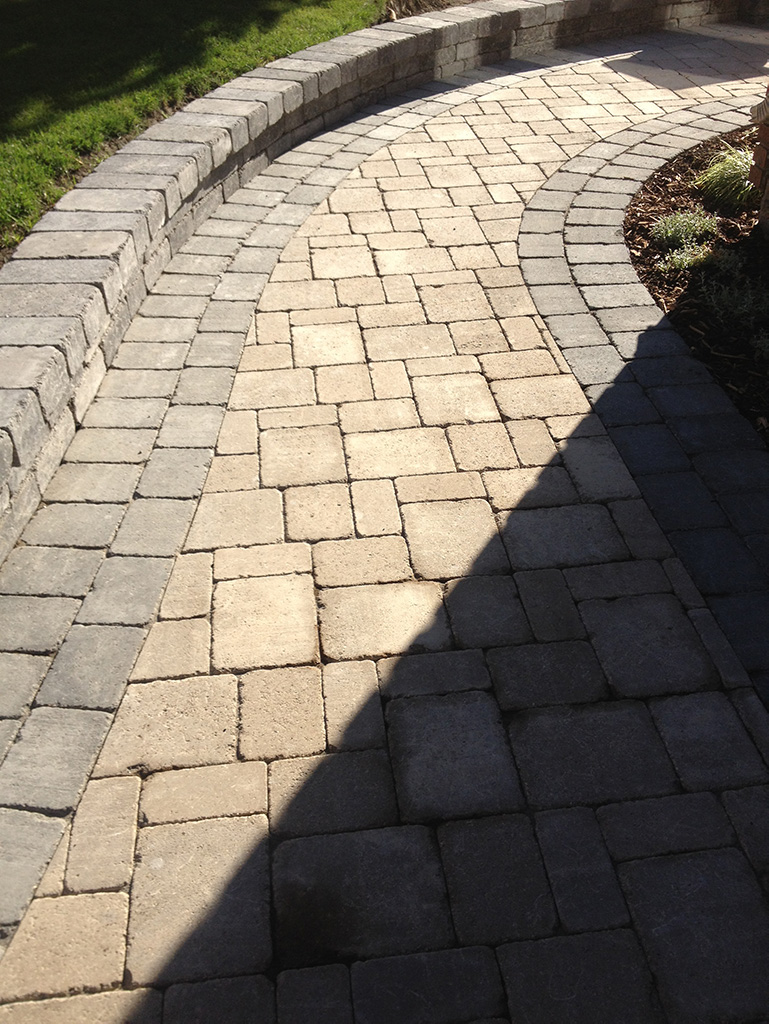 landscaping path
