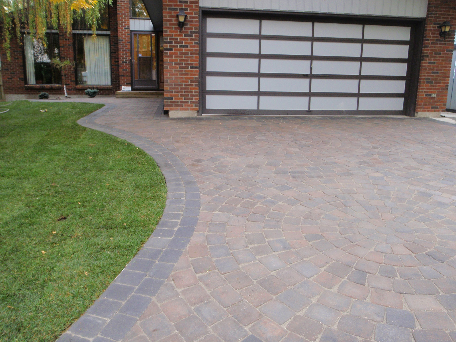 calgary landscaping stone driveway