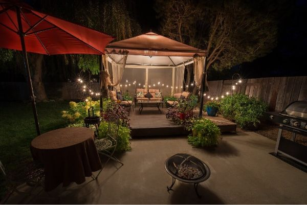 Fire pit size installation size and design options